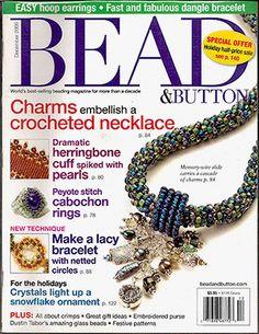 070 Bead & Button Magazine, 2005 December, #70 (Used) at Sova-Enterprises.com