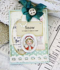 I love this card by Melissa. She does such beautiful work.