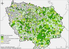 156 villes d'Île-de-France sont désormais à « zéro pesticide », étude réalisée par Natureparif, le portail de la biodiversité http://www.pariscotejardin.fr/2015/03/156-villes-d-ile-de-france-sont-desormais-a-zero-pesticide/