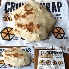 Crunchwrap Sliders Tacobell