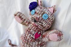Repurposed Sweater Cat