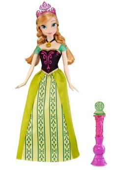 Disney Frozen Color Change Anna Fashion Doll Toy. For order or details click on the image!