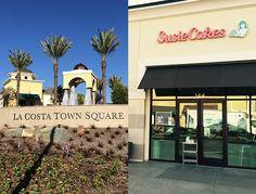 SusieCakes -- 7610 Via Campanile, Suite 144, La Costa Town Square -- Carlsbad