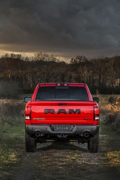 2015 Ram 1500 Rebel- guess it was just a matter of time lol. Also says RAM on the front grill :p not as big as the back lol