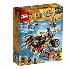 Lego Legends Of Chima: Tormak's Shadow Blazer (70222)  Manufacturer: LEGO Enarxis Code: 014820 #toys #Lego #Chima