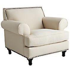 Pier 1 Imports > Catalog > Furniture & Living > Pier1ToGo Product Details - Carmen Chair - Ecru