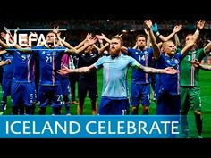 Iceland celebrations vs England in full: Slow hand clap 27.6.16 - YouTube