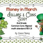 This is a must have for your money unit in March. Your students will have a blast scooting around the room while counting coins. The students will ...