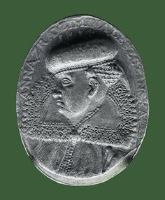 Medal of Anna Leszczyńska née Radzimińska by Anonymous from Poland, Lublin Museum. The sitter, depicted in a fur hat, was a daughter of Stanisław Radzimiński, voivode of Podlachia and wife of Rafał Leszczyński. Anonymous, Poland, Anna, Daughter, Museum, Fur, My Daughter, Museums, Feather