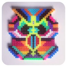 Hama perler bead art by Sara Seir