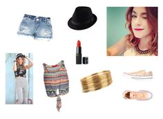 """martina stoessel"" by timy150 ❤ liked on Polyvore featuring Boohoo, River Island, Converse and Uniqlo"