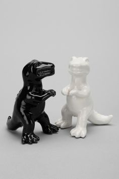 Dino Salt And Pepper Shaker - Set Of 2  #UrbanOutfitters @Anna Antonini