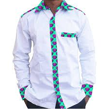 latest african fashion look 7939 African Print Shirt, African Print Dresses, African Fashion Dresses, African Attire, African Wear, African Dress, African Style, African Fashion Designers, African Print Fashion