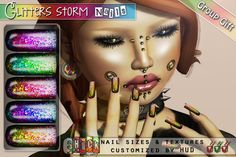 a776a78f1f8c8 38 best 0-1 Linden Nails #SecondLife images in 2017   Finger nails ...