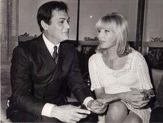 Tony Curtis and Monica Vitti