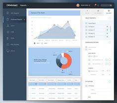 15 Visually Brilliant App Dashboard Design Concepts - UltraLinx