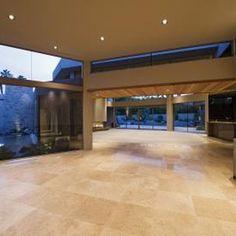 Furniture and hard debris scratch ceramic floor tiles.