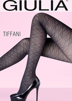 Buy Giulia Tiffani 80 Tights for We are Earth's biggest hosiery store, we offer more sizes and colours for Giulia Tiffani 80 Tights than any one else. Nylons, Pantyhose Outfits, Pantyhose Legs, Vintage Stockings, Sexy Stockings, Hot High Heels, High Heel Boots, Bas Sexy, Patterned Tights