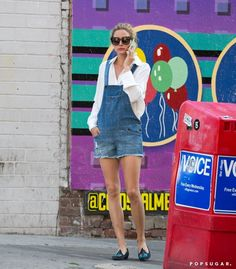 Pin for Later: Olivia Palermo Has a Styling Hack to Make Your Overalls Look Polished