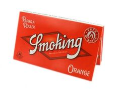Papier à rouler Smoking Orange Regular x 10