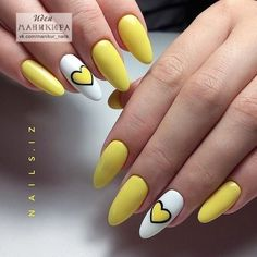 In look for some nail designs and ideas for your nails? Listed here is our list of must-try coffin acrylic nails for modern women. Yellow Nails Design, Yellow Nail Art, Aycrlic Nails, Cute Nails, Glitter Nails, Coffin Nails, Spring Nails, Summer Nails, Best Acrylic Nails