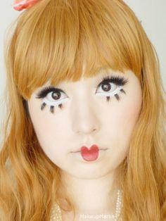Bisque Doll Makeup