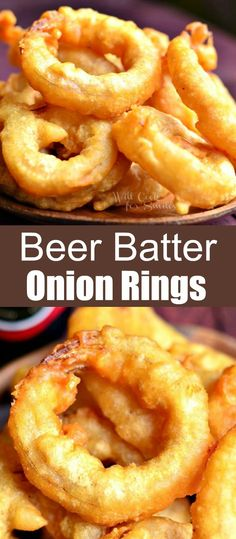 Sloppy Joe, Salisbury, Food Network, Onion Ring Batter, Japchae, Appetizer Recipes, Dessert Recipes, Appetizers, Beer Battered Onion Rings