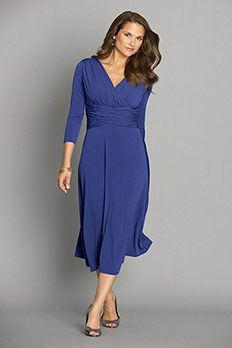 I bought a bridesmaid dress from this site (Chadwicks). You can pull them out of a suitcase all rumpled up and they are ready to wear as is--no wrinkles. LOVE!