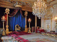 La salle du Trône (Château de Fontainebleau) - Throne room - Wikipedia, the free…
