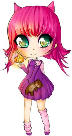 Chibi Annie - LoL by linkitty.deviantart.com on @deviantART