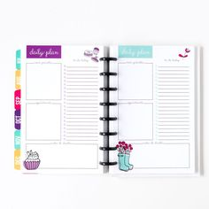 All-new, disc bound planner from Laura of I Heart Planners. The first pre-printed and delivered to your door planner from the printable Queen!