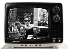 Atomic Style Retro Sampo 15 inch Television