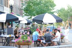 Patio season has officially begun! Make the most of this gorgeous day by taking in some sunshine and a good meal at one of eateries that offer outdoor dining! Sidewalk Cafe, Outdoor Dining, Outdoor Decor, Jefferson City, Spring Weather, Capital City, Small Towns, Restaurant Bar, Spring Time