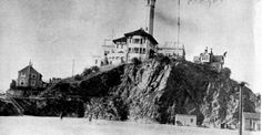 """Frowning Alcatraz, Key of San Francisco,"" was the 1866 description of the fortress, expanded by a 1884 comment: ""it commands the entrance to the Golden Gate, and forms an effectual defense for the harbor of San Francisco."" It ""is 450 feet wide, 1,650 feet long, irregular in shape, and encircled by powerful batteries, in which are said to be mounted some of the heaviest guns ever cast in America."""