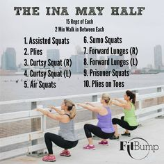 Your Best Lower Body is Just 150 Squats Away – FitBump: Sign up for an in-person class today! #prenatalexercise #prenatalfitness #prenatalworkout
