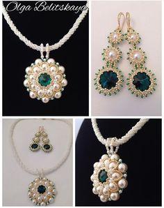 Jewelry Sets, Diy Jewelry, Beaded Jewelry, Jewelery, Handmade Jewelry, Beaded Necklace, Jewelry Making, Diy Earrings Designs, Imitation Jewelry