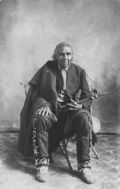 Ojibwa man – 1910