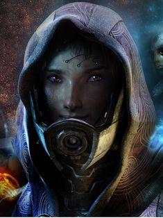 Mass Effect Tali No Mask