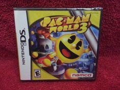 Pac-Man World 3, Nintendo DS NEW- free ship $13.79 #jenrun