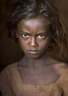 Borana Tribe Girl, Marsabit District, Marsabit, Kenya   www.ericlafforgue.com