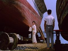 Ozu's FLOATING WEEDS is beautiful and quietly devastating.