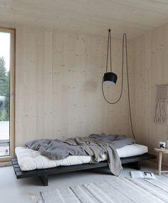 Minimalist Home Interior .Minimalist Home Interior Plywood Interior, Plywood Walls, Cama Design, Living Room Decor, Bedroom Decor, Master Bedroom, Interior Minimalista, Romantic Home Decor, Simple House