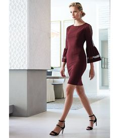 ba92060ced9 Antonio Melani Tyler Bell Sleeve Knit Dress
