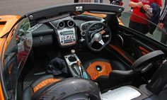 Simple yet effective interior of the wonderful Pagani Zonda!