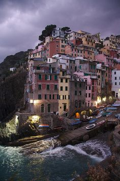 Riomaggiore Italy - one of my favorite places