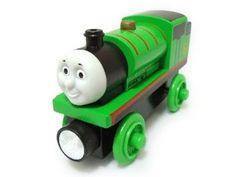 Amazon.com: Fisher-Price Thomas the Train Wooden Railway Percy: Toys & Games