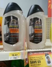 HOT! ArmorAll Wash & Wax + Protect only $1.47 at Walmart after Coupon and Mail In Rebate (Regularly $8.47!) - http://www.couponaholic.net/2014/05/hot-armorall-wash-wax-protect-only-1-47-at-walmart-after-coupon-and-mail-in-rebate-regularly-8-47/