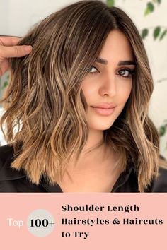 Go to our website to check out our collection of popular shoulder length hairstyles! Photo credit: Instagram @brushlights #shoulderlengthhairstyles Shoulder Length Hairstyles, Shoulder Length Straight Hair, Layered Haircuts Shoulder Length, Medium Length Hair Cuts With Layers, Shoulder Hair, Short Straight Hair, Blonde Layered Hair, Blonde Hair, School Hairstyles