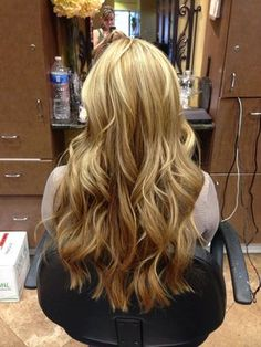 blonde and caramel hair - Google Search