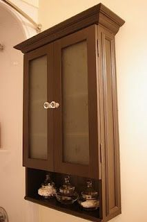 How To Build Your Own Bathroom Wall Cabinet